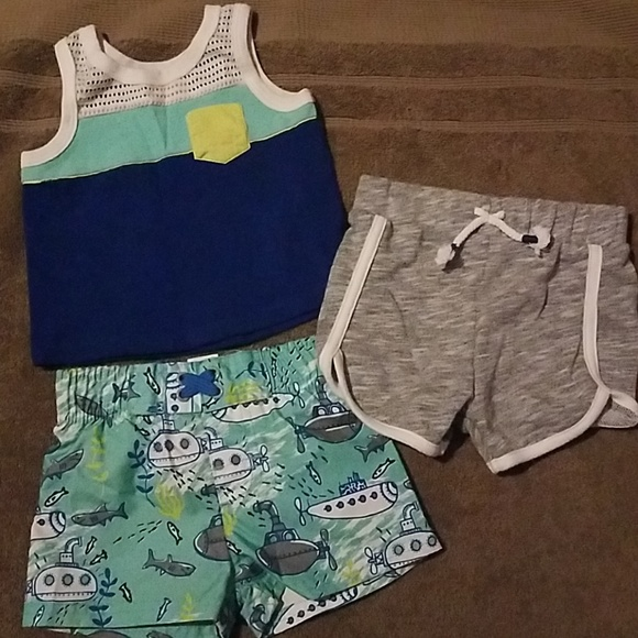 7da61f077d Cat & Jack Other - Infant boy's swim trunk and shorts set from Target